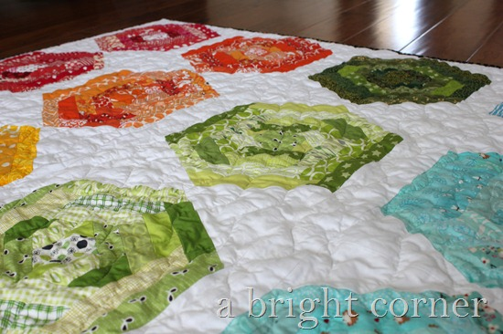 hexing around quilt 2