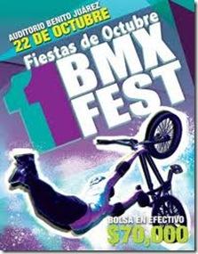 bmx fest en fiestas de octubre 2011
