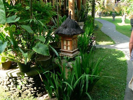 Traditional lamps in Bali