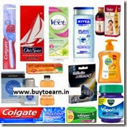 Buy Colgate, Whisper, Gillette, Dabur, Dettol, Park Avenue, Nivea Minimum 20% off