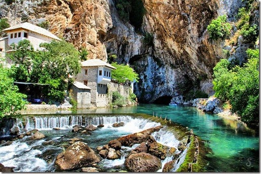 The small town of Blagaj