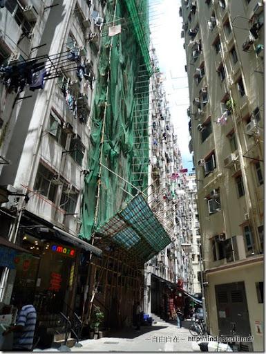 香港常看到的景象