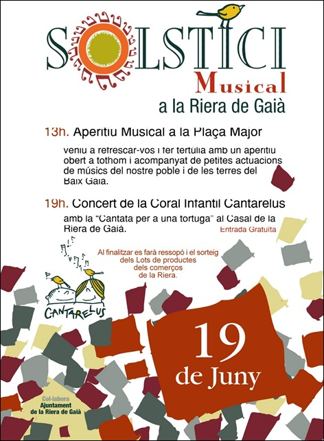 Cartell SOLSTICI Musical 2011