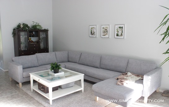 Living room sectional www.simpleispretty.com