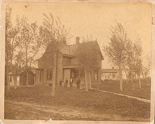 Barnes Ponca Nebraska home