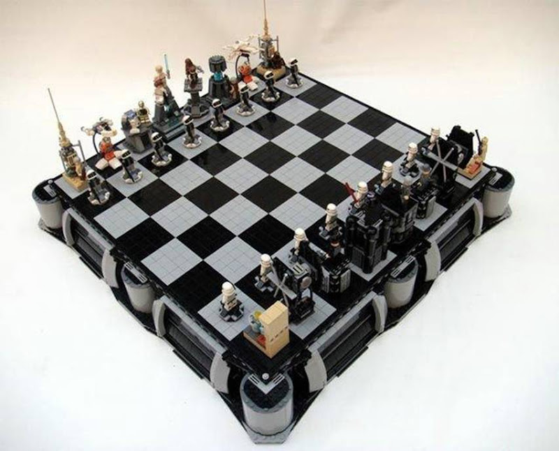 Robot on Chess board