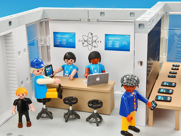 E8bb playmobil apple store genius bar