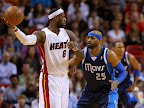 lebron james nba 130102 mia vs dal 08 King James Debuts LBJ X Portland PE But Ends Scoring Streak