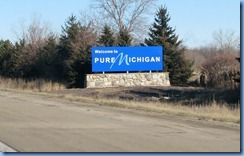 7552 Michigan - I-75 - Welcome sign