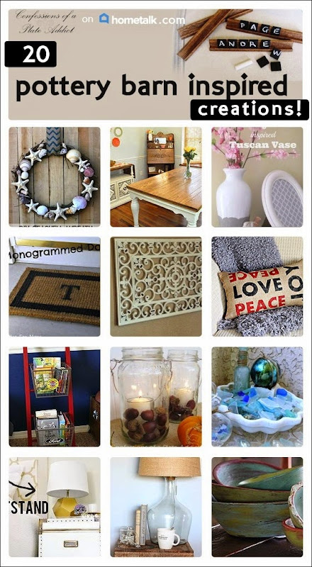 CONFESSIONS OF A PLATE ADDICT 20 Pottery Barn Inspired Projects from Hometalk