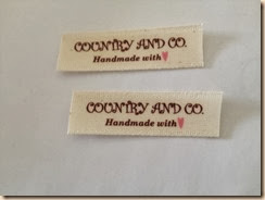 etichette countryandco