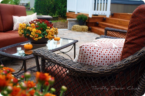 outdoor pillows placemats