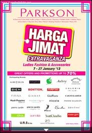 Parkson Harga Jimat Extravaganza Jan 2013 - Parkson Malaysia Branded Shopping Save Money EverydayOnSales