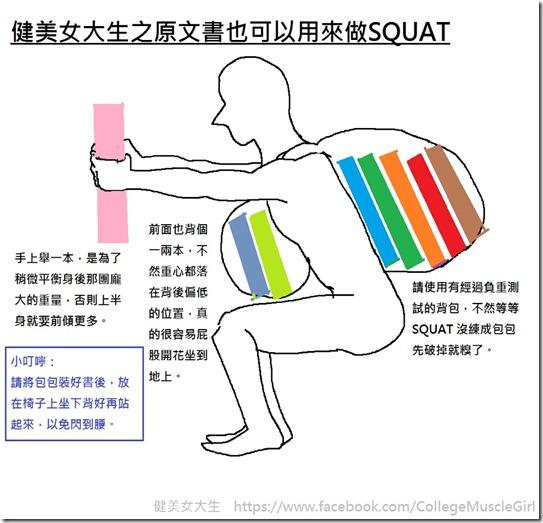 原文書squat