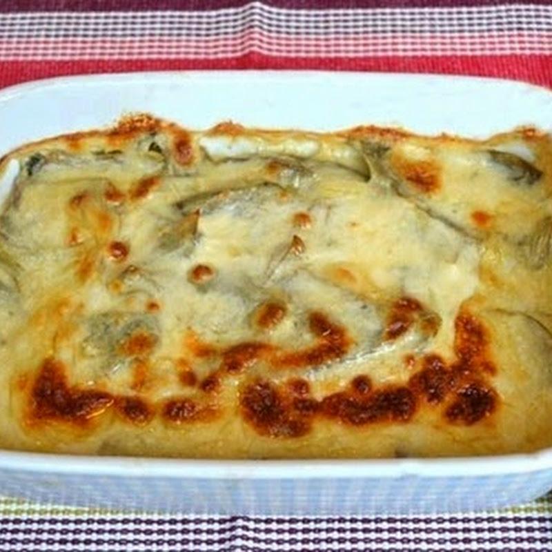 Αγκινάρα με τυρί στο φούρνο