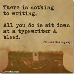 write bleed