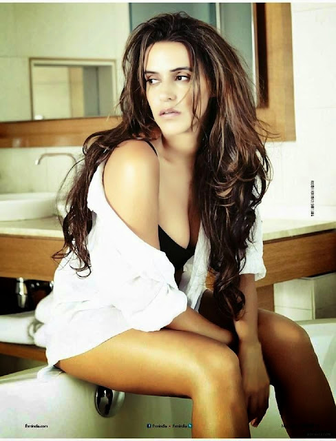 Neha Dhupia On The For FHM India