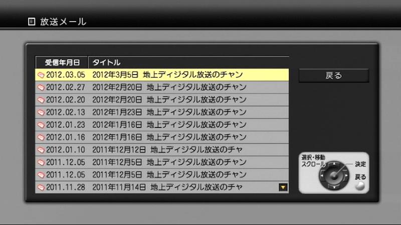 地デジ小田原中継局の周波数変更...