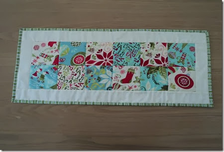 Xmas Table runner 2013