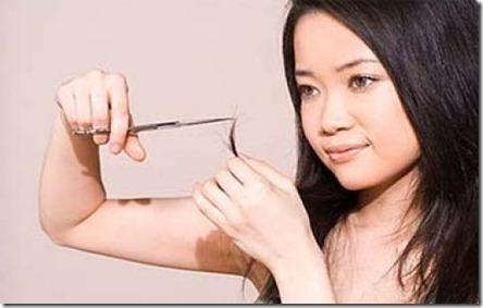 Remedios Caseros para el cabello con Puntas Abiertas1