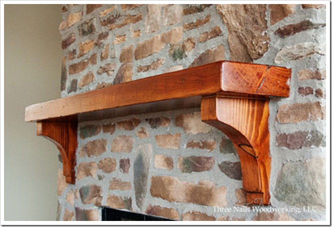 ThreeNailsWoodworking8Mantel