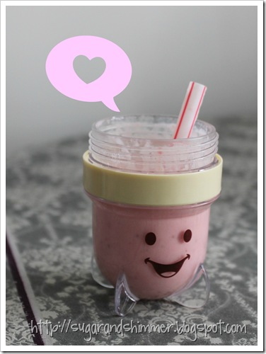 Valentine Toddler Smoothie