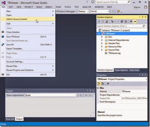 Implement source control management