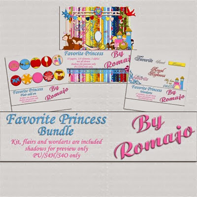 Favorite Princess - Bundle