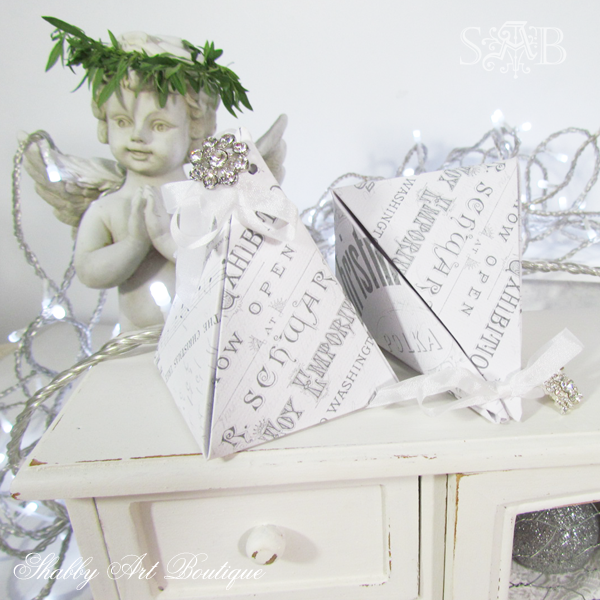 Shabby Art Boutique Pyramid Box 7