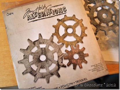 Tim Holtz Alterations Gears