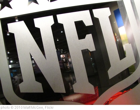 'NFL logo' photo (c) 2010, Matt McGee - license: http://creativecommons.org/licenses/by-nd/2.0/