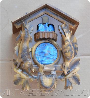 Cuckoo Clock Makeover @ Vintage Revivals 024