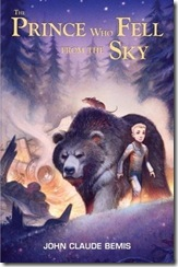 book cover of The Prince Who Fell From the Sky by John Claude Bemis