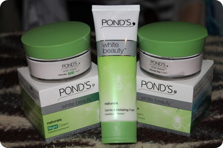 advertising effectiveness of ponds lotion