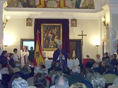 Obispo Reig Pla misa franquista