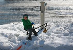 snowdigging