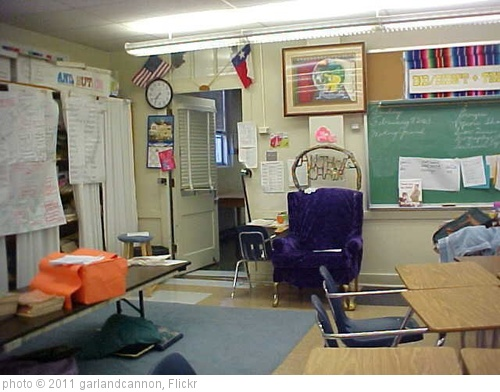 'Classroom I Taught In at the Time of September 11, 2001' photo (c) 2011, garlandcannon - license: http://creativecommons.org/licenses/by-sa/2.0/