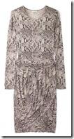 By Malene Birger Snake Print Dress