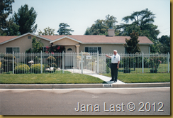 Jan Iverson in Front of 1st home in Los Angeles June, 2004_0001