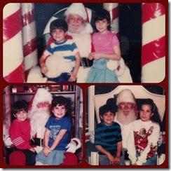 Mall Santa Memories