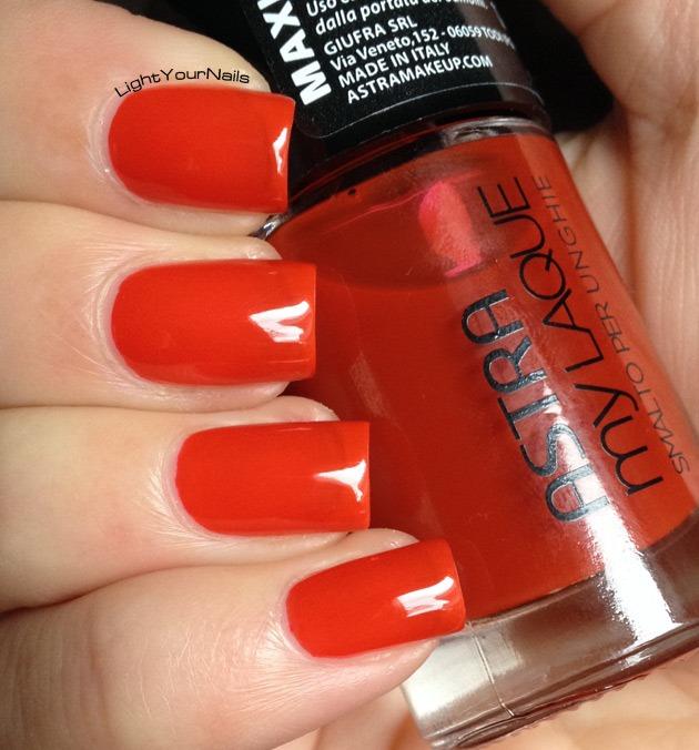 Astra My Laque 12 Rosso Arancio