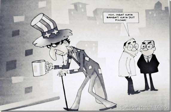 Kredit Kartun: Juragan,Harian Metro