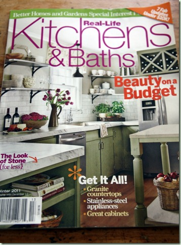 Of Better Homes And Gardens Kitchen And Bath Magazine