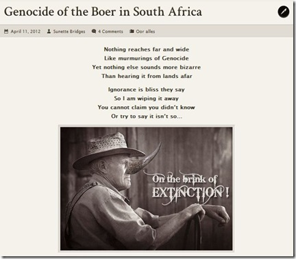 Boer extinct