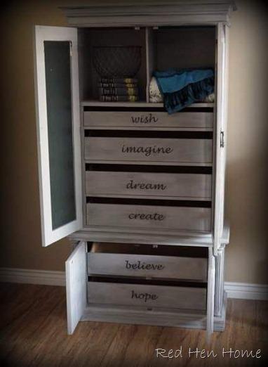 gray armoire 009
