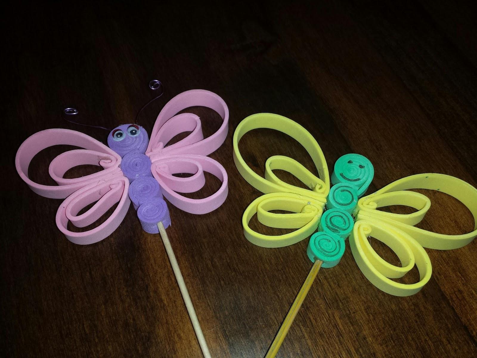 Mis originales jaboncitos mariposas de goma eva - Mariposas goma eva ...