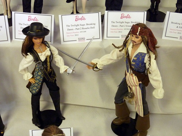 Madrid Fashion Doll Show - Barbie & Ken Piratas del Caribe