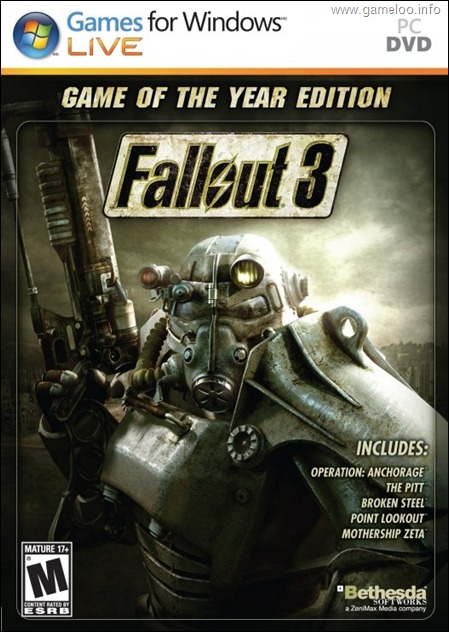 Fallout 3: Game of the Year Edition - All DLCs