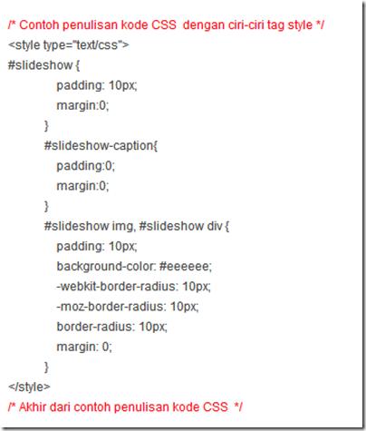 Identifikasi elemen CSS