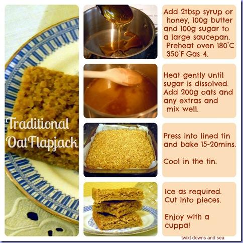 Twixt flapjack recipe